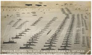The British Navy Grand Fleet - The war at sea in Ireland WWI